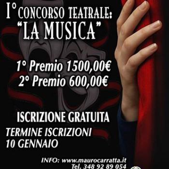 prima edizione concorso teatrale LA MUSICA