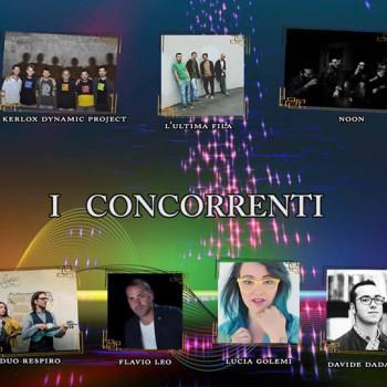 i concorrrenti finalisti del Premio Mauro Carratta Eizione 2017